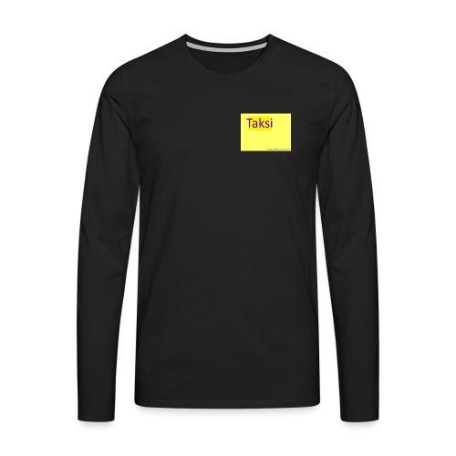 taksifoorumi - Miesten premium pitkähihainen t-paita