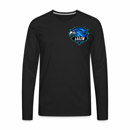 xallw logo - Männer Premium Langarmshirt