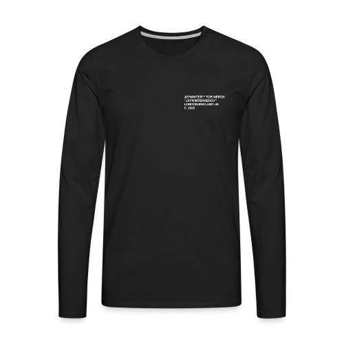 jxywinter - Men's Premium Longsleeve Shirt
