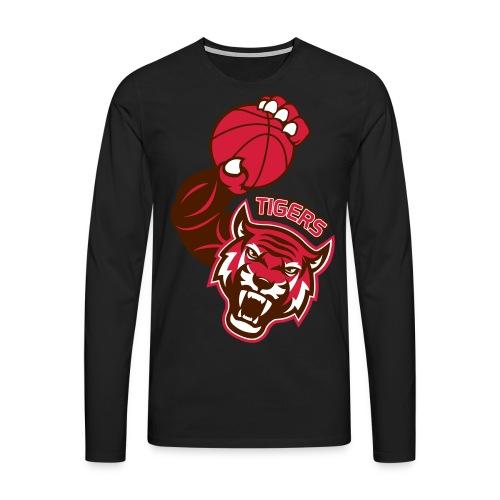 Tigers Basket - T-shirt manches longues Premium Homme