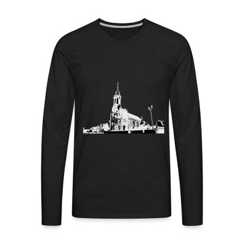 Cours de Pile Eglise 1 De - T-shirt manches longues Premium Homme