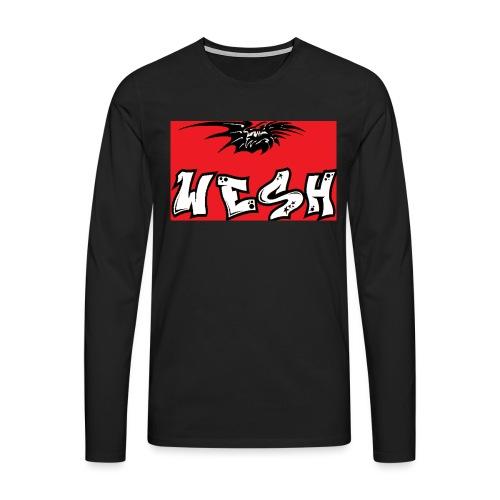 Wesh - T-shirt manches longues Premium Homme