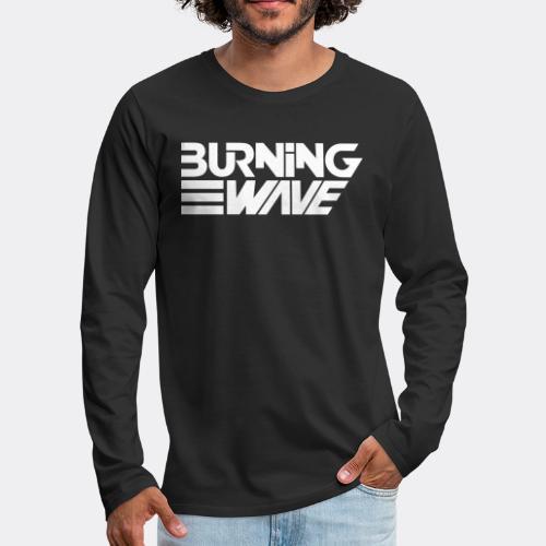 Burning Wave Block - T-shirt manches longues Premium Homme