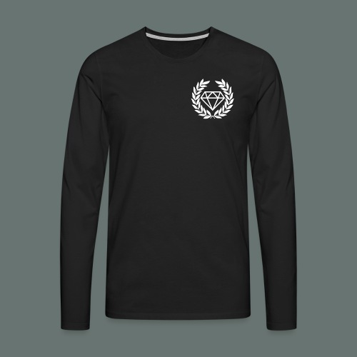 White Diamond - Men's Premium Longsleeve Shirt