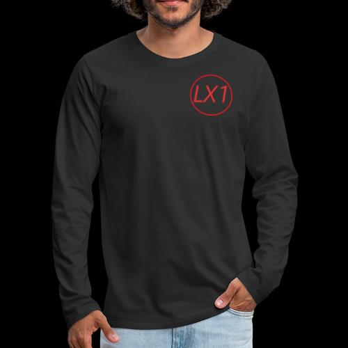WilleLX1 Logo - Långärmad premium-T-shirt herr