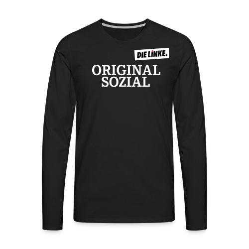 Schriftzug_original - Männer Premium Langarmshirt