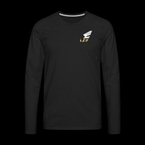LAW 1 png - Männer Premium Langarmshirt