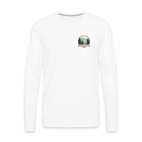 Tawastia Trail Logo - Miesten premium pitkähihainen t-paita
