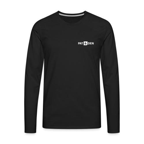 PAT&DEN Logo 0PD02 - Männer Premium Langarmshirt