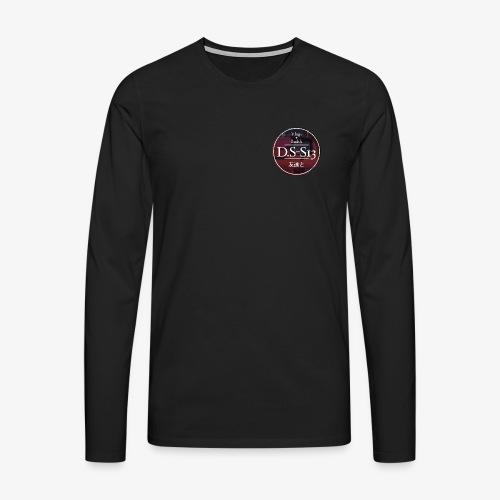 Daniel Silverklint Logga - Långärmad premium-T-shirt herr