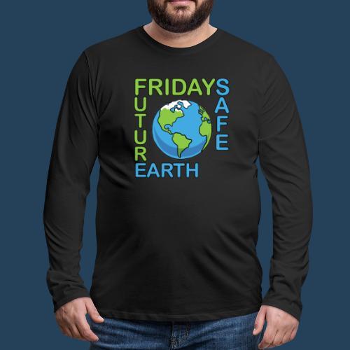 Safe Our Earth - Männer Premium Langarmshirt