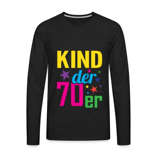 Kind der 70er - Männer Premium Langarmshirt