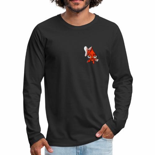 Boze vis - Mannen Premium shirt met lange mouwen