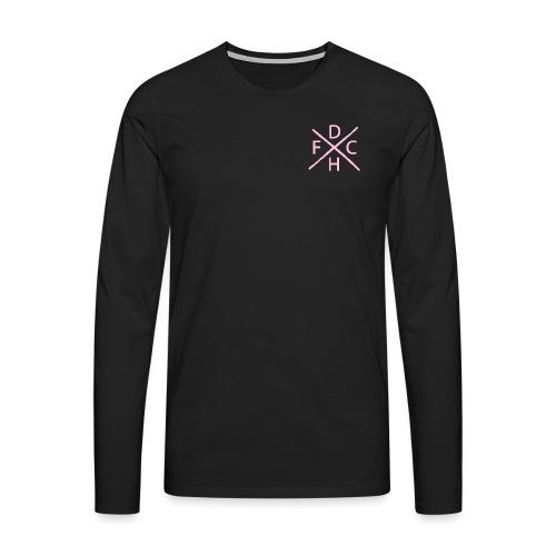 pink png - Men's Premium Longsleeve Shirt