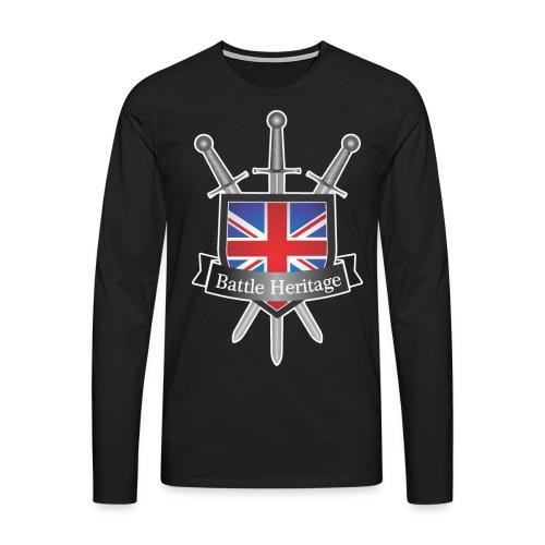 BH_TransparentBackground - Men's Premium Longsleeve Shirt