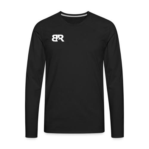 BR LOgo voor op truien png - Mannen Premium shirt met lange mouwen