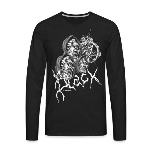 BLACX   MONK - Männer Premium Langarmshirt