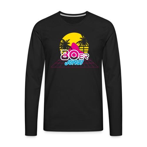 80er JÜNGI - Männer Premium Langarmshirt