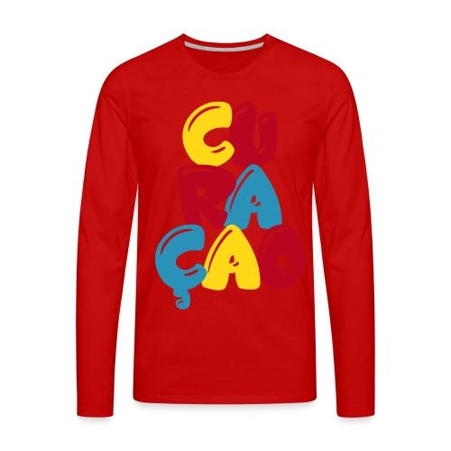 curacao - Mannen Premium shirt met lange mouwen