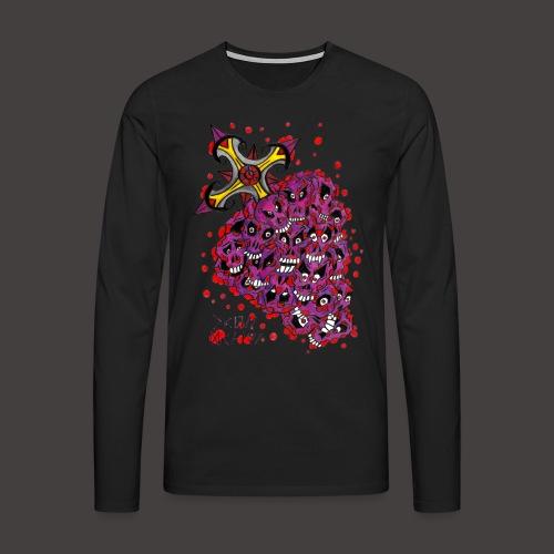 Cross Grapes - T-shirt manches longues Premium Homme