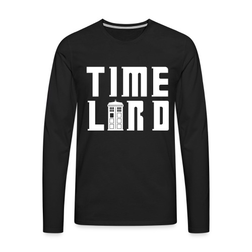 Time Lord - Men's Premium Longsleeve Shirt