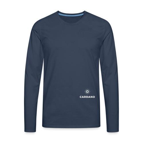 ADA - Koszulka męska Premium z długim rękawem