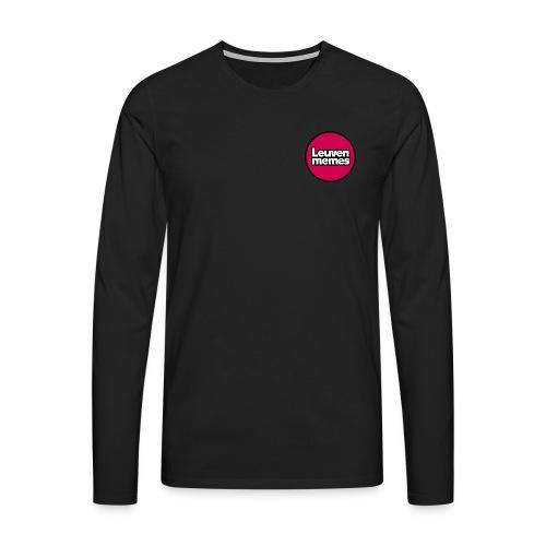 Logo LeuvenMemes - T-shirt manches longues Premium Homme