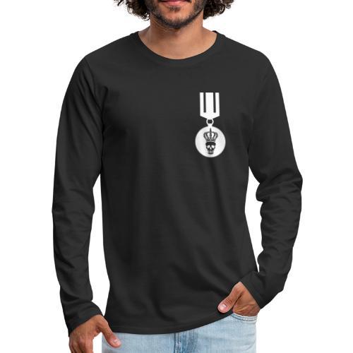 Medal - Mannen Premium shirt met lange mouwen