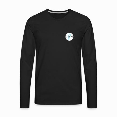 The Scots Review TSR Logo - Men's Premium Longsleeve Shirt