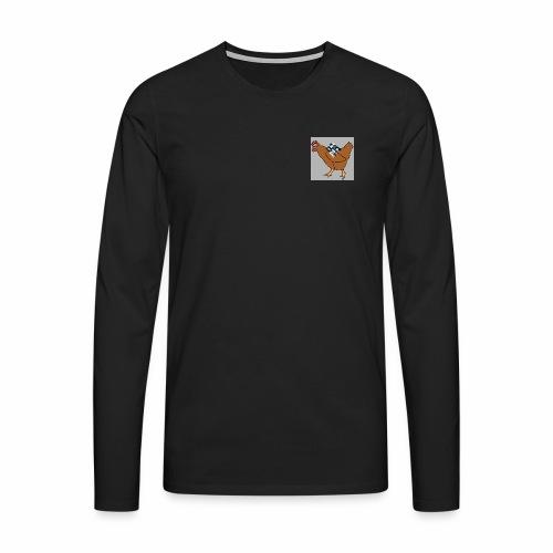 Quad Chicken Logo - Men's Premium Longsleeve Shirt