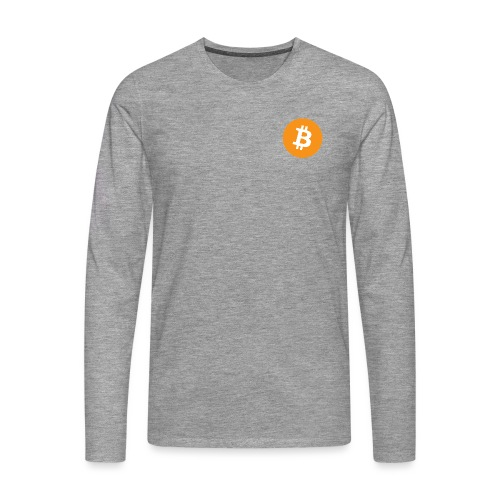 Bitcoin - Men's Premium Longsleeve Shirt