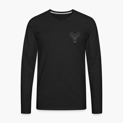 Rat's Head - Mannen Premium shirt met lange mouwen