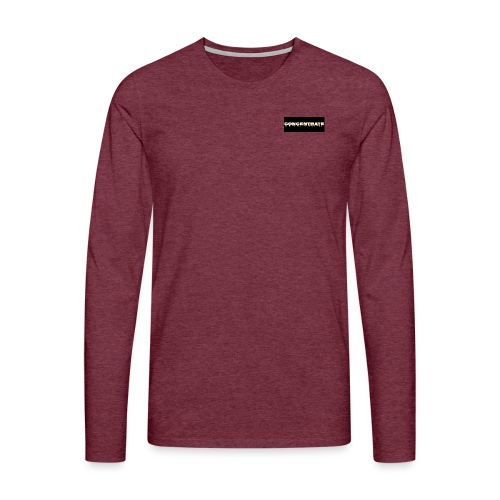 Concentrate on black - Men's Premium Longsleeve Shirt