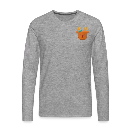 When Deers Smile by EmilyLife® - Men's Premium Longsleeve Shirt