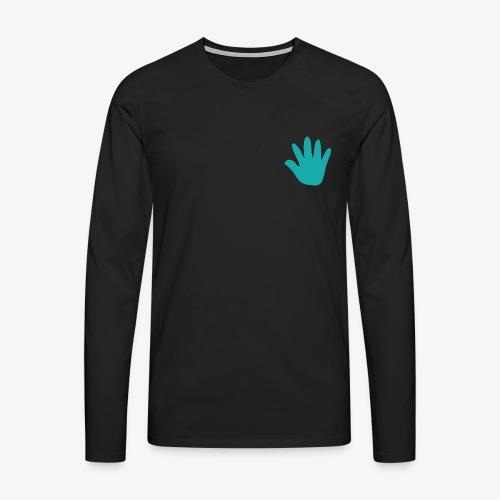 Jones and Fredd - Herre premium T-shirt med lange ærmer