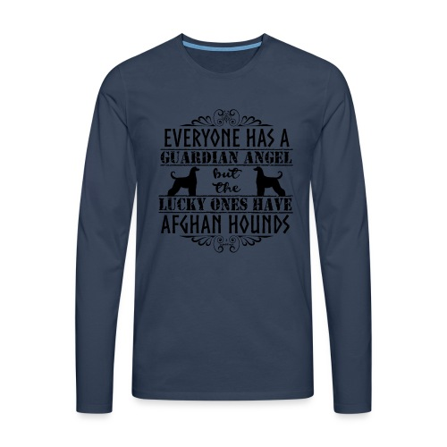 Afghan Hound Angels - Men's Premium Longsleeve Shirt