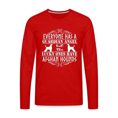 Afghan Hound Angels 2 - Men's Premium Longsleeve Shirt