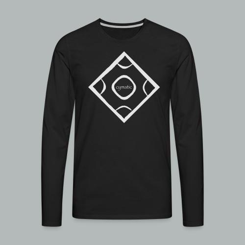 CYMATIC LOGO light greyL - Männer Premium Langarmshirt