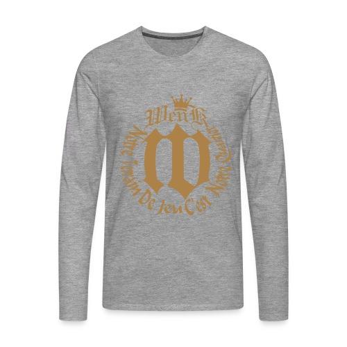 WENKA - T-shirt manches longues Premium Homme