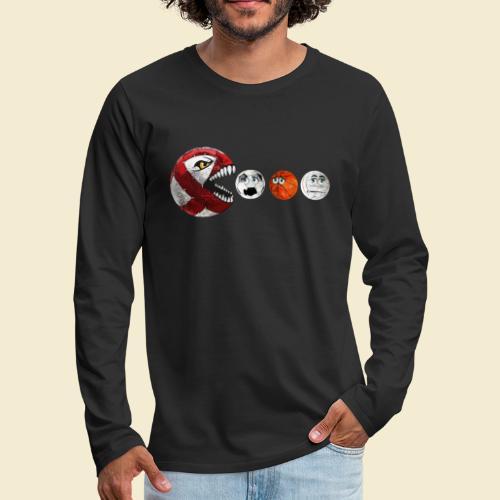 Radball   Cycle Ball RedMan - Männer Premium Langarmshirt
