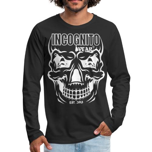 LOGO CZACHA INCOGNITO© - Koszulka męska Premium z długim rękawem