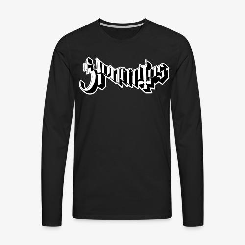 Kunmitus nro. 2 - Miesten premium pitkähihainen t-paita