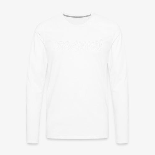 Jochie - Mannen Premium shirt met lange mouwen