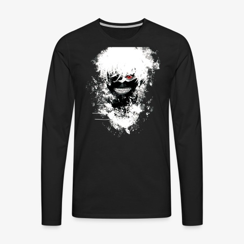 Kaneki Eye Patch - Men's Premium Longsleeve Shirt