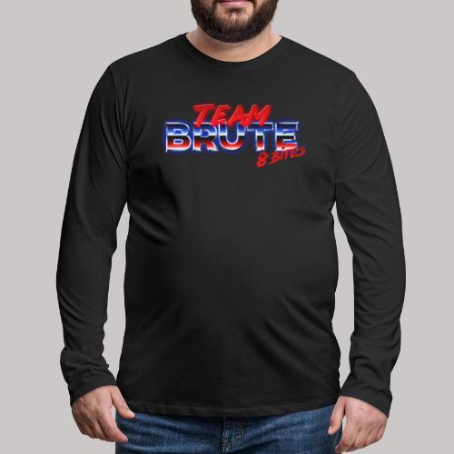 Team BRUTE Red - Men's Premium Longsleeve Shirt