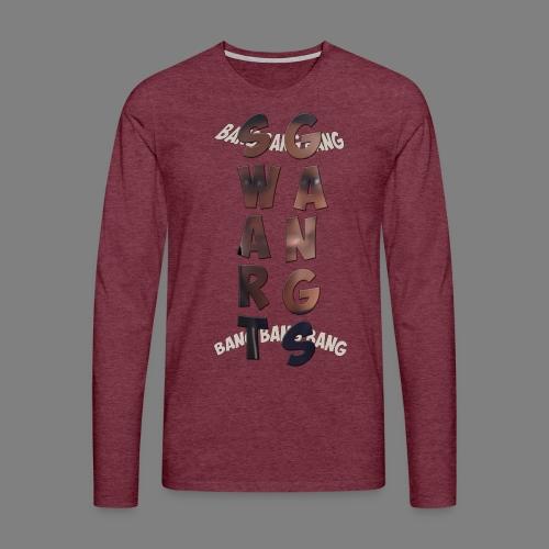 motif kemece - T-shirt manches longues Premium Homme
