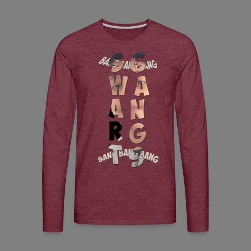 motif yasin - T-shirt manches longues Premium Homme