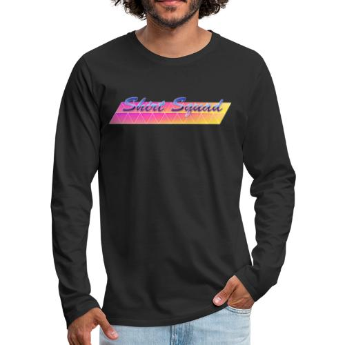 80's Shirt Squad - Men's Premium Longsleeve Shirt