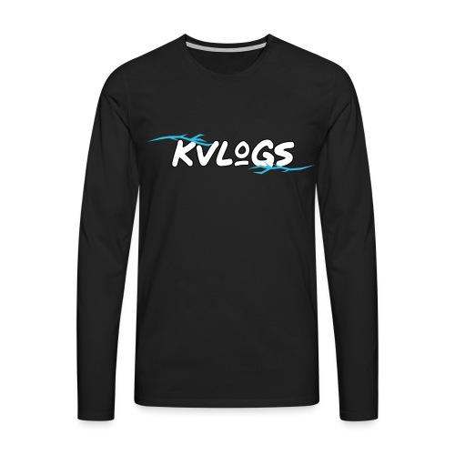K Vlogs - Mannen Premium shirt met lange mouwen
