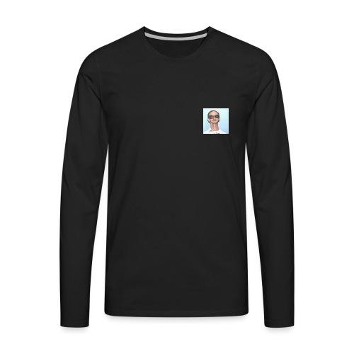 MY DAD - Premium langermet T-skjorte for menn